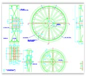 Mechanical AutoCAD Drawing